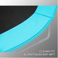 Батут Clear Fit ElastiqueHop 6Ft (183см) с внутренней сеткой