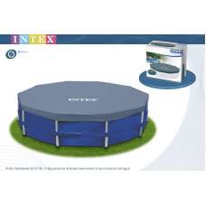 Тент Intex 28030 для круглого каркасного бассейна 305см