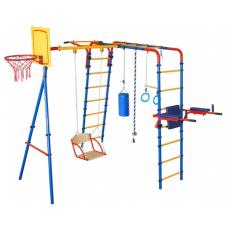 Уличный детский спортивный комплекс серии «ЮНЫЙ АТЛЕТ» ПЛЮС
